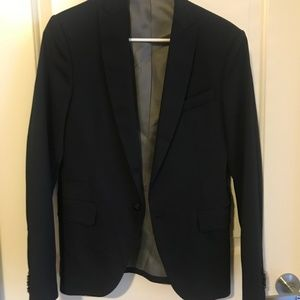 Zara Black 34 Blazer